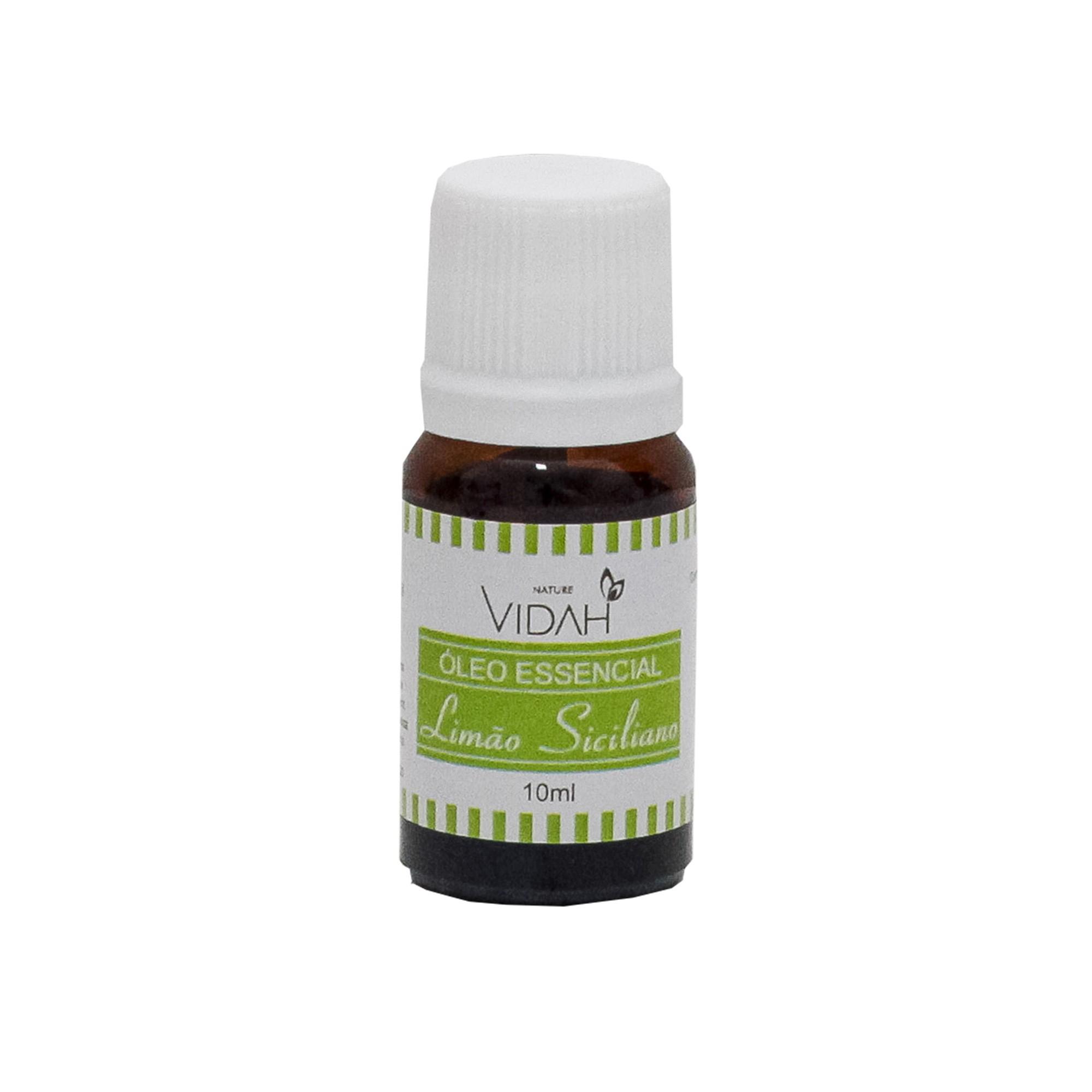 Óleo Essencial de Limão Siciliano Vidah - 10 ML