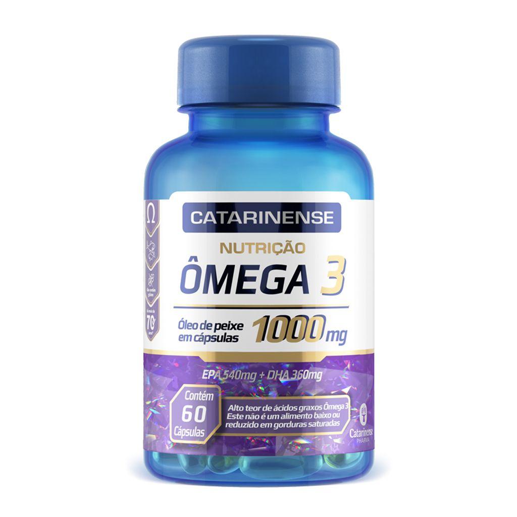Ômega 3 Vegano  1000mg Catarinense ? 30 cápsulas