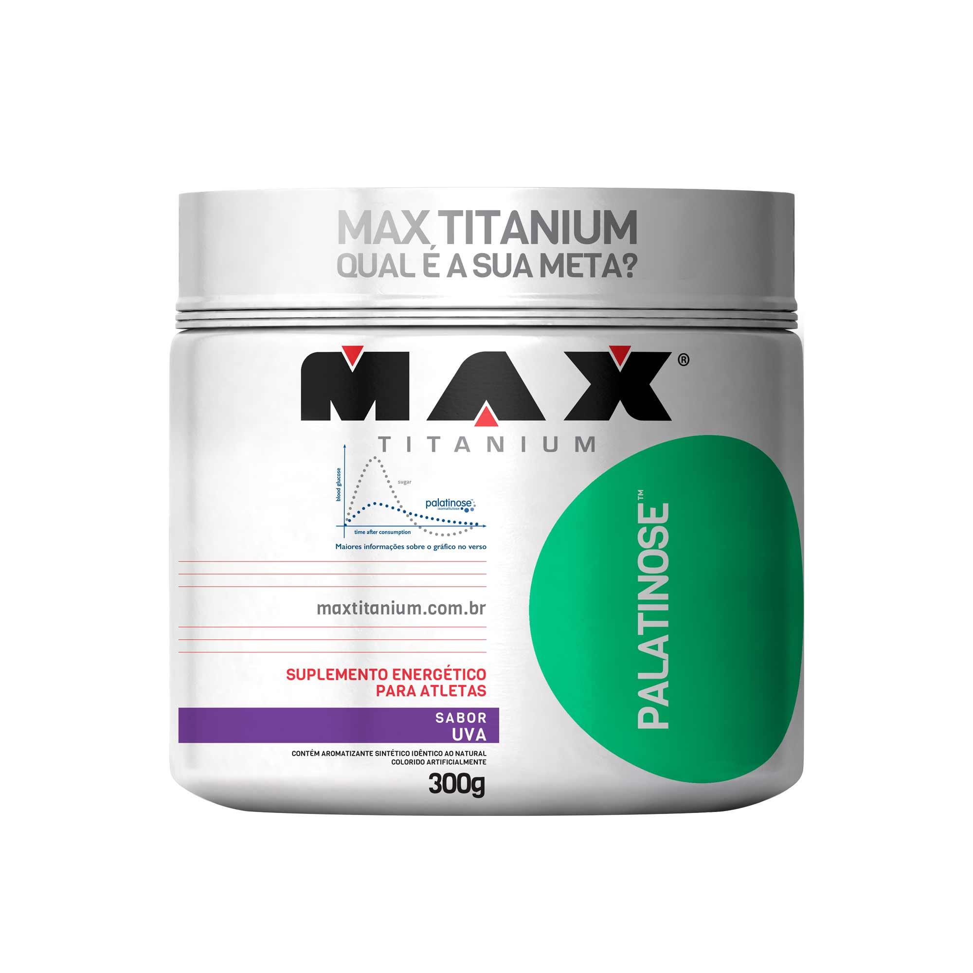Palatinose uva 300g Max Titanium