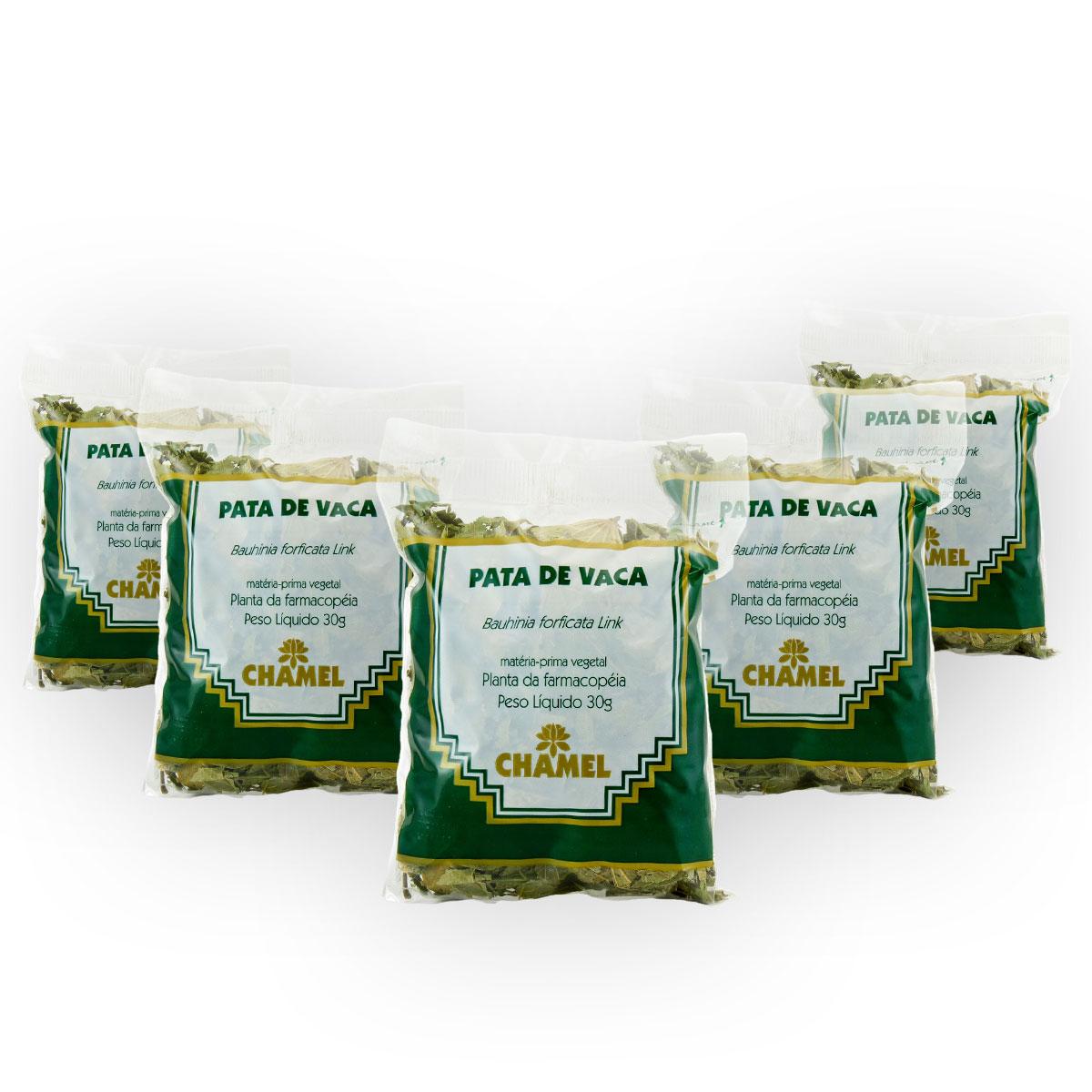 Pata de Vaca 30g Chamel com 5 Unidades - Chá-Folhas
