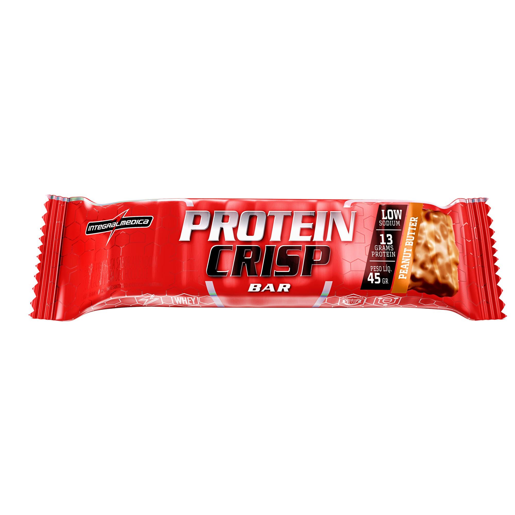 Protein Crips Bar Peanut butter 45g Integralmedica