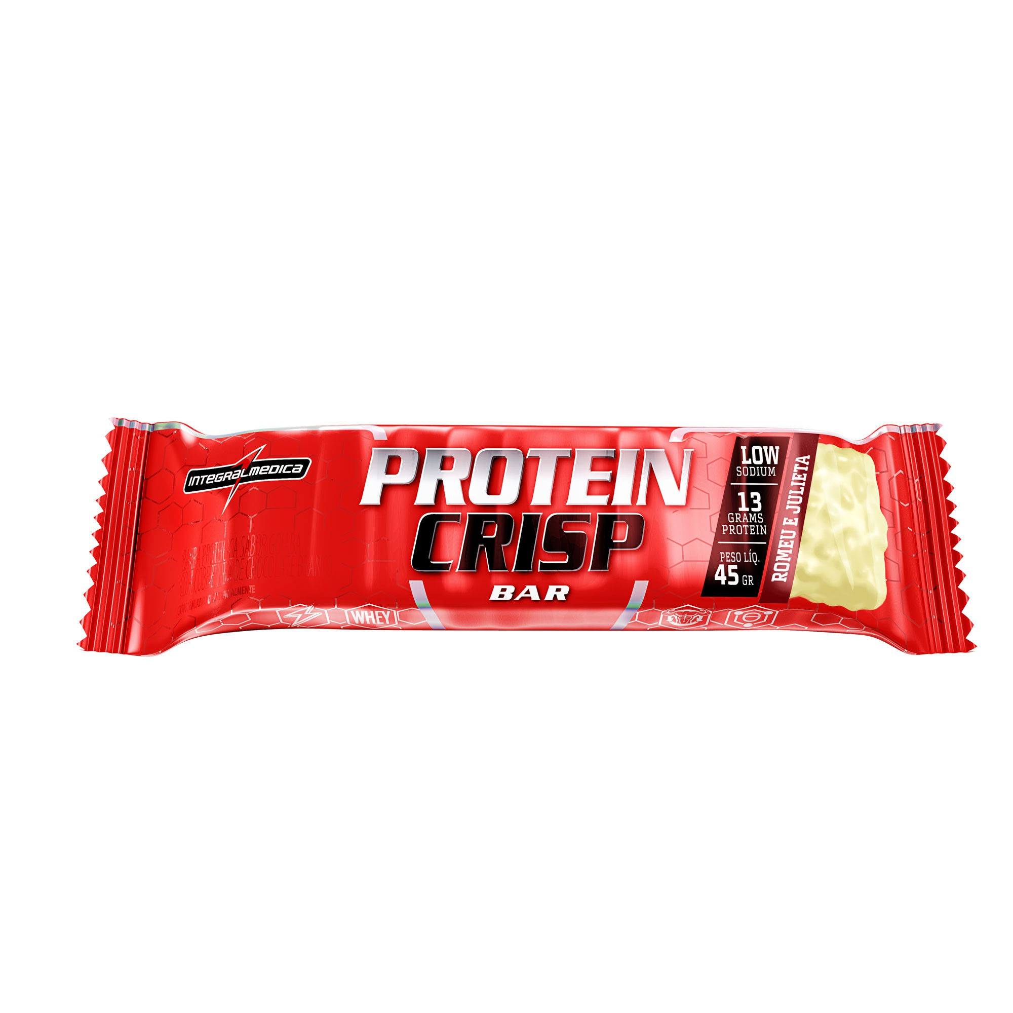 Protein Crips Bar Romeu e Julieta 45g Integralmedica