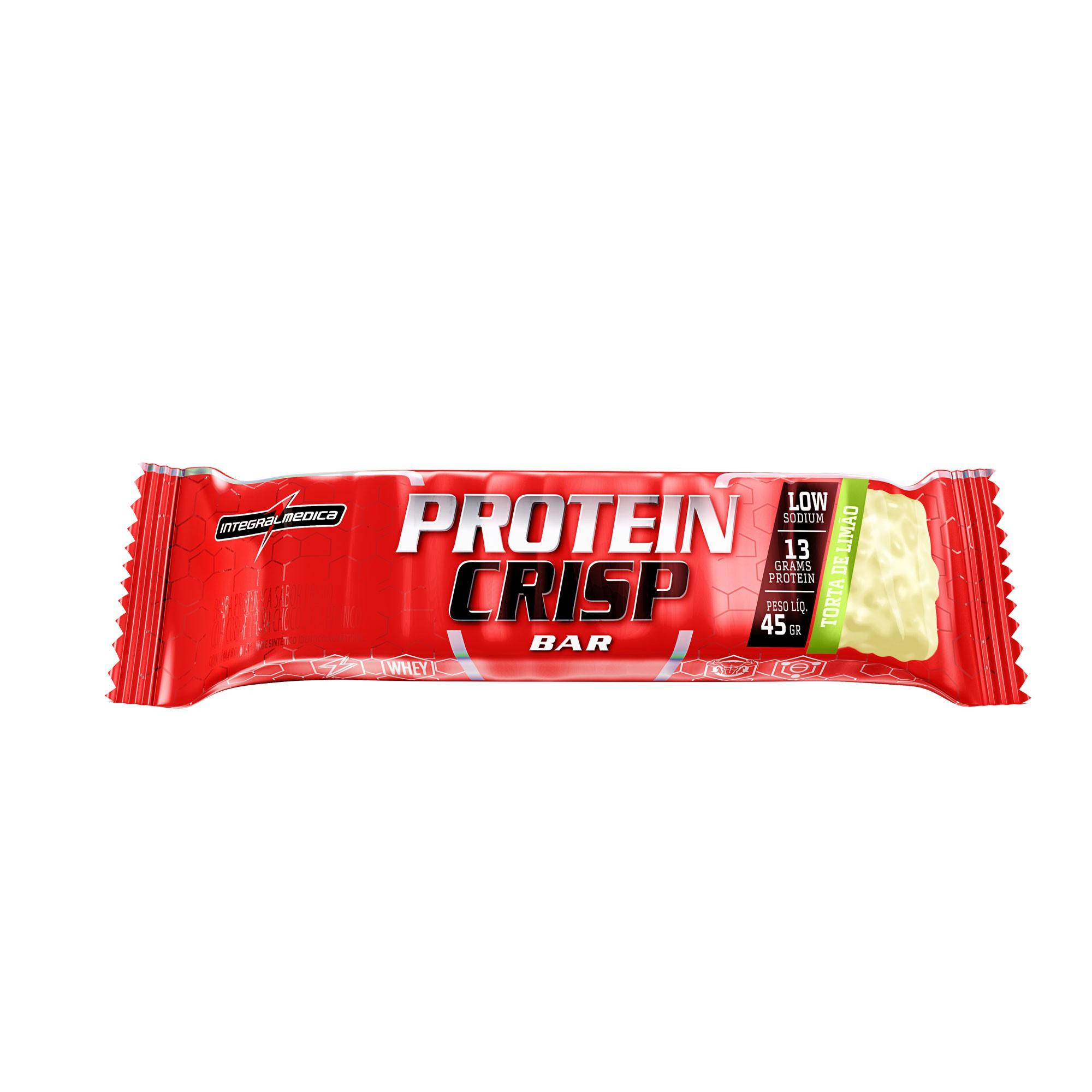 Protein Crips Bar Torta de limão 45g Integralmedica