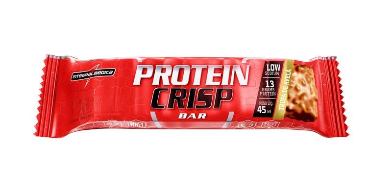 Protein Crips Bar Trufa de avelã 45g Integralmedica