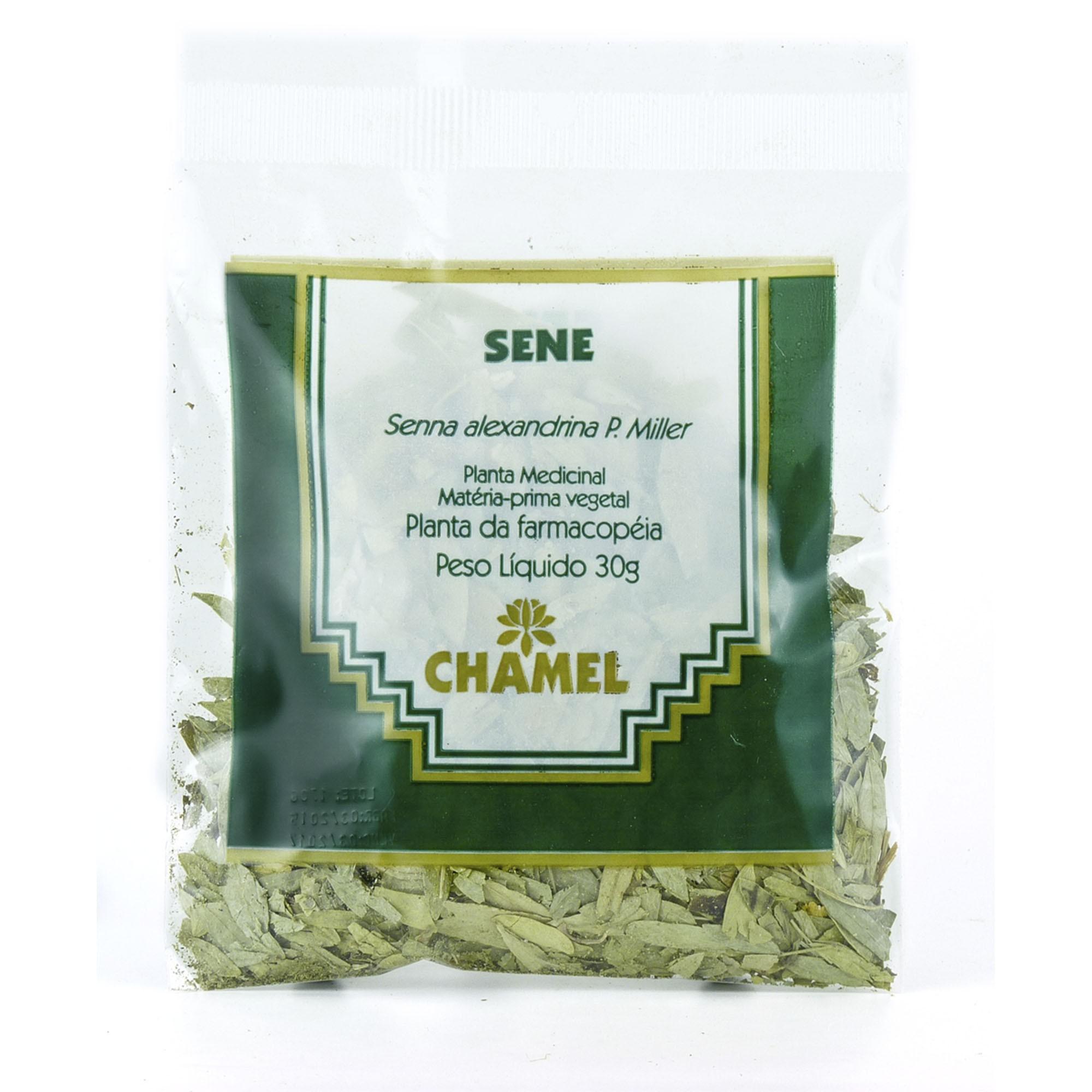 Sene  30g Chamel - Chá-Folhas