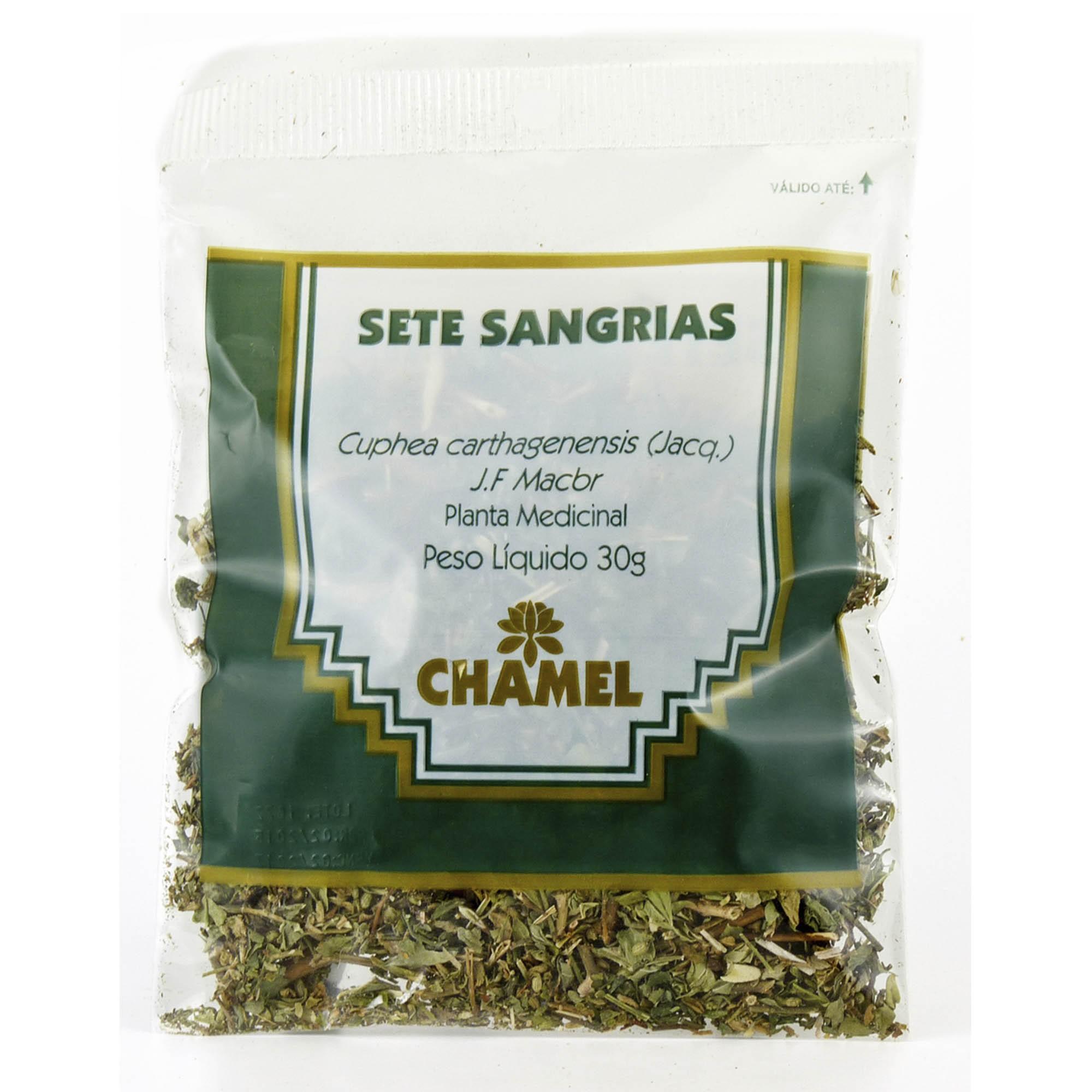 Sete Sangrias  30g Chamel - Chá-Folhas