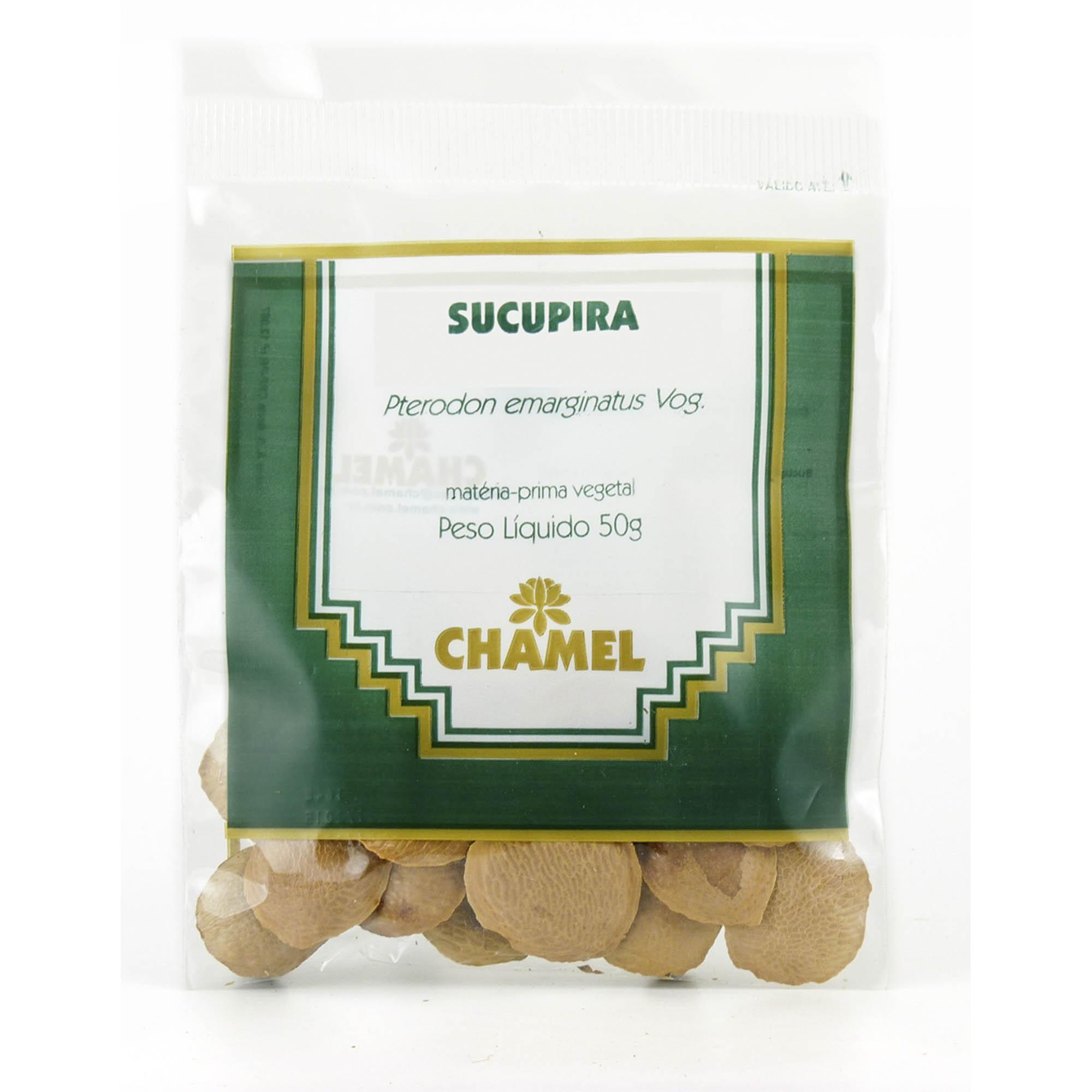 Sucupira  50g Chamel - Chá-Sementes