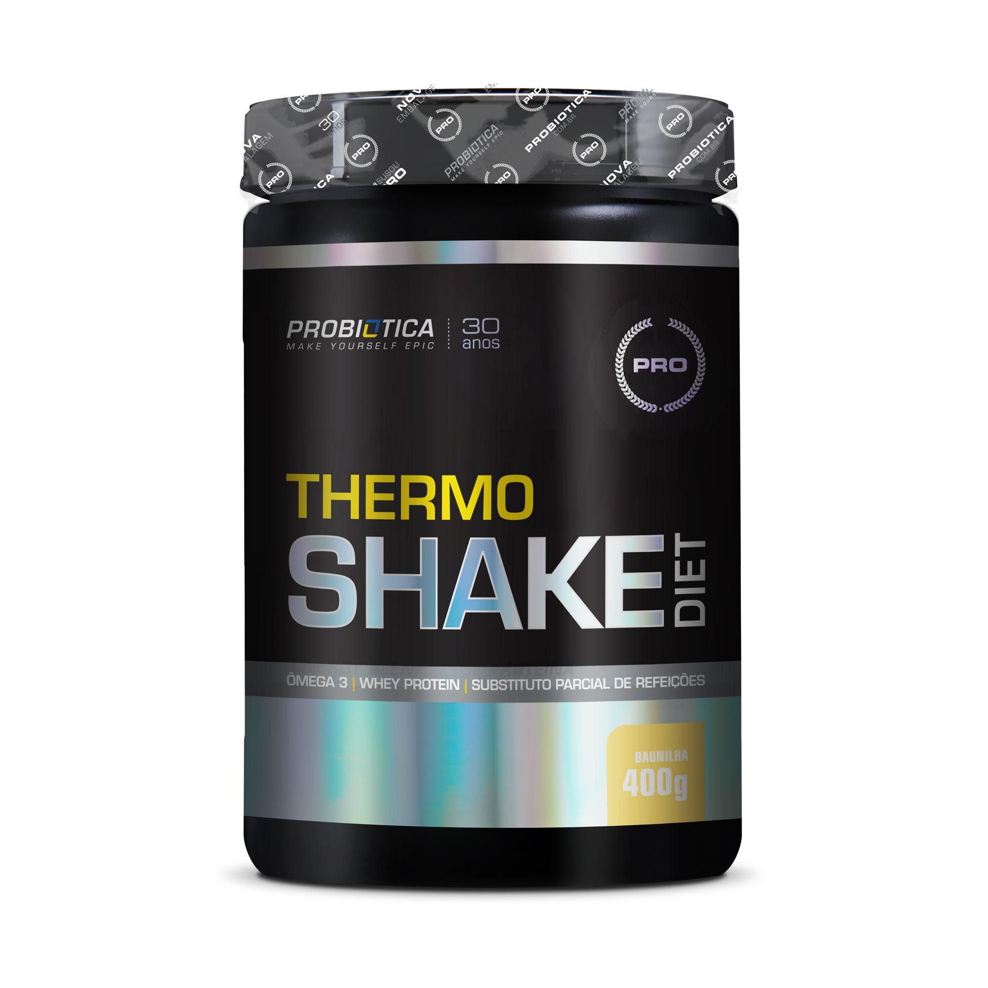 Thermoshake Diet Baunilha Probiotica  400g
