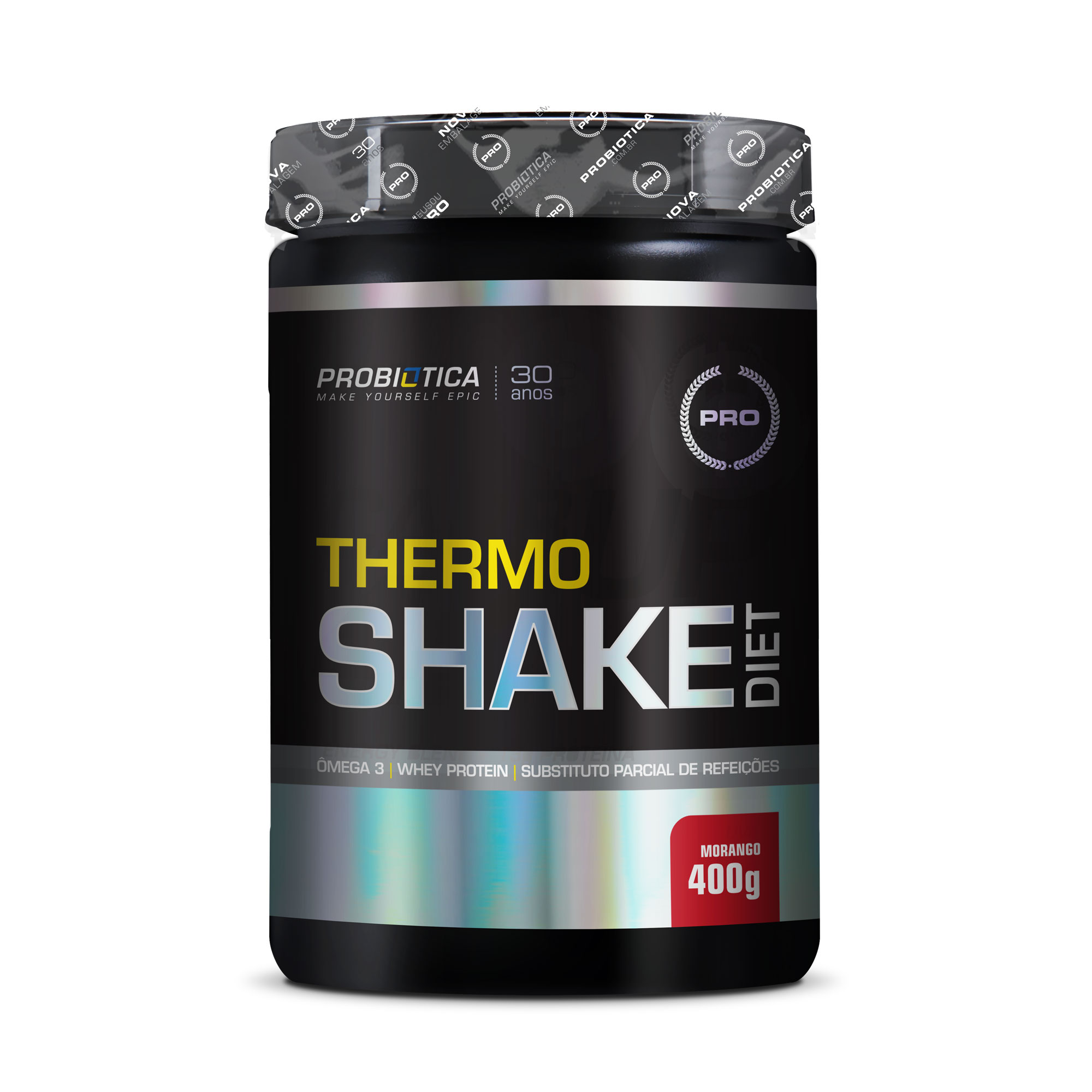 Thermoshake Diet Morango Probiotica  400g