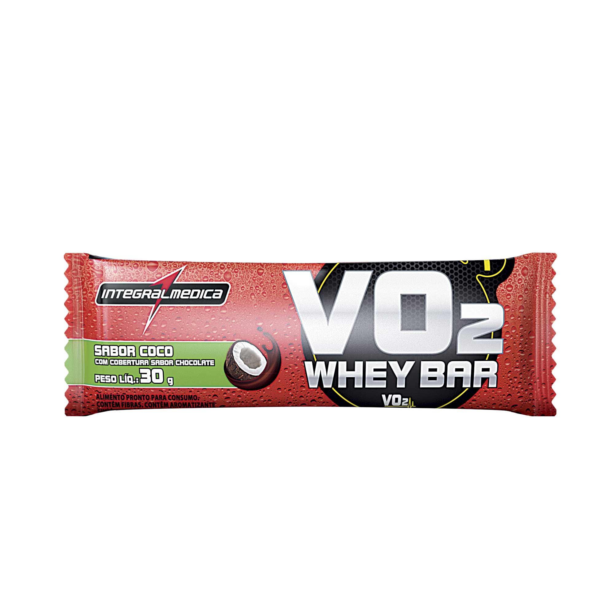 VO2 Barra Proteica Coco 30g Integralmedica