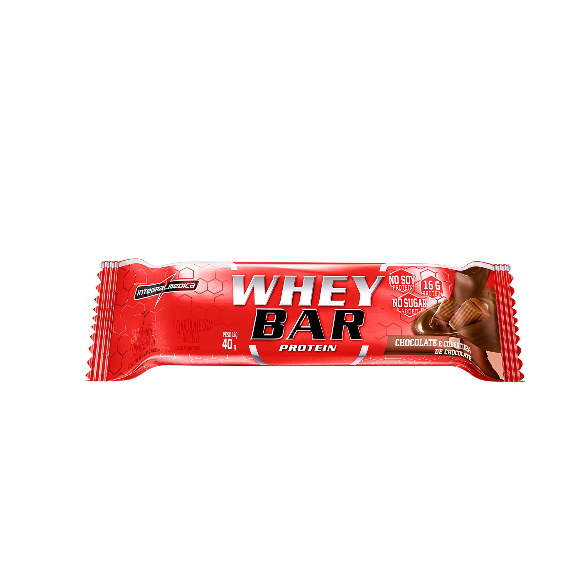 Whey Barra Proteica Chocolate 40g Integralmedica