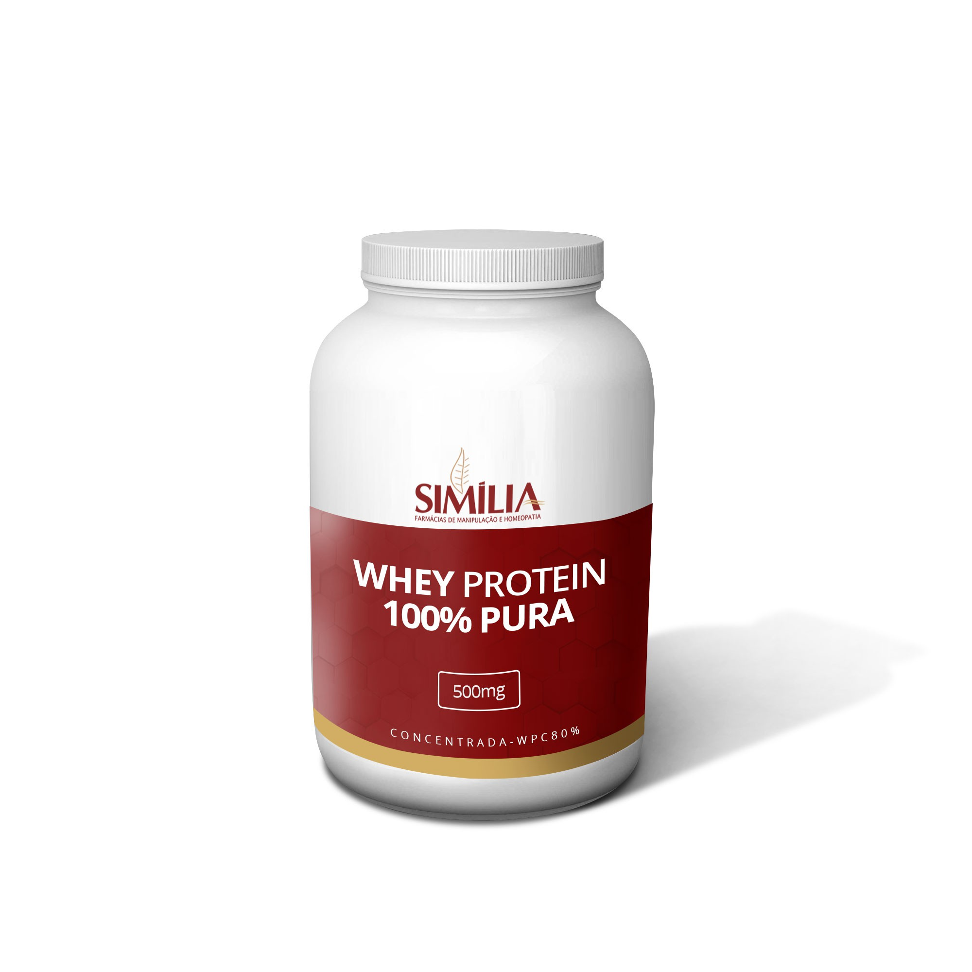 Whey Protein Concentrada Pura 500g
