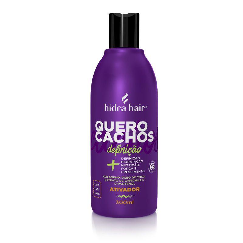 Ativador de Cachos Definição Quero Cachos Hidra Hair 300 ml