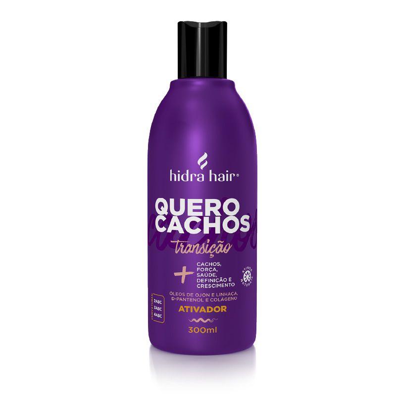 Ativador de Cachos Transição Quero Cachos Hidra Hair 300 ml