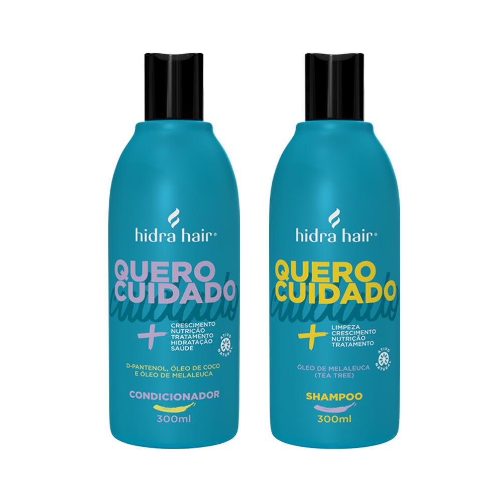 Kit Shampoo + Condicionador Óleo de Melaleuca- para todos os tipos de cabelo
