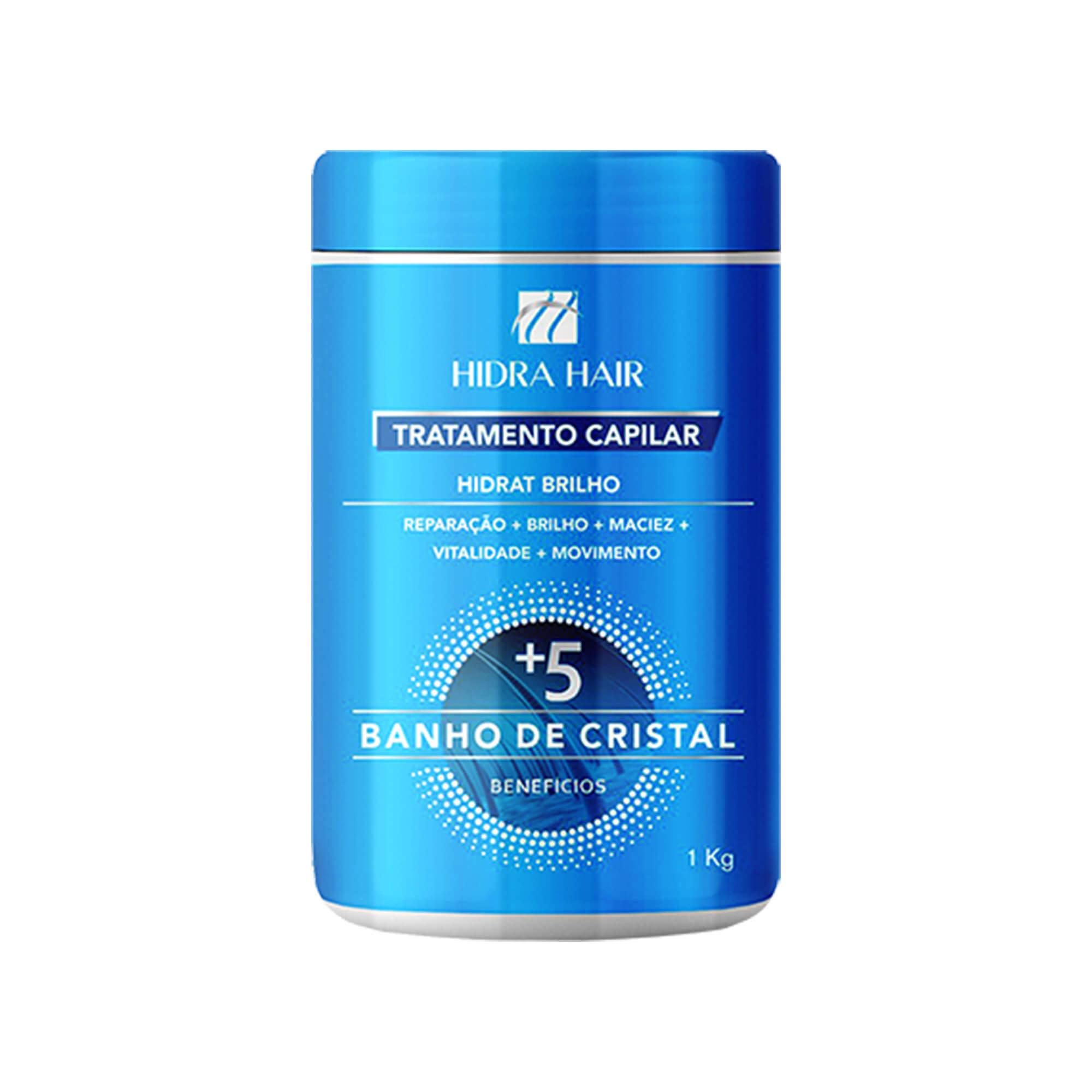 Máscara de Tratamento Capilar Banho de Cristal 1 Kg