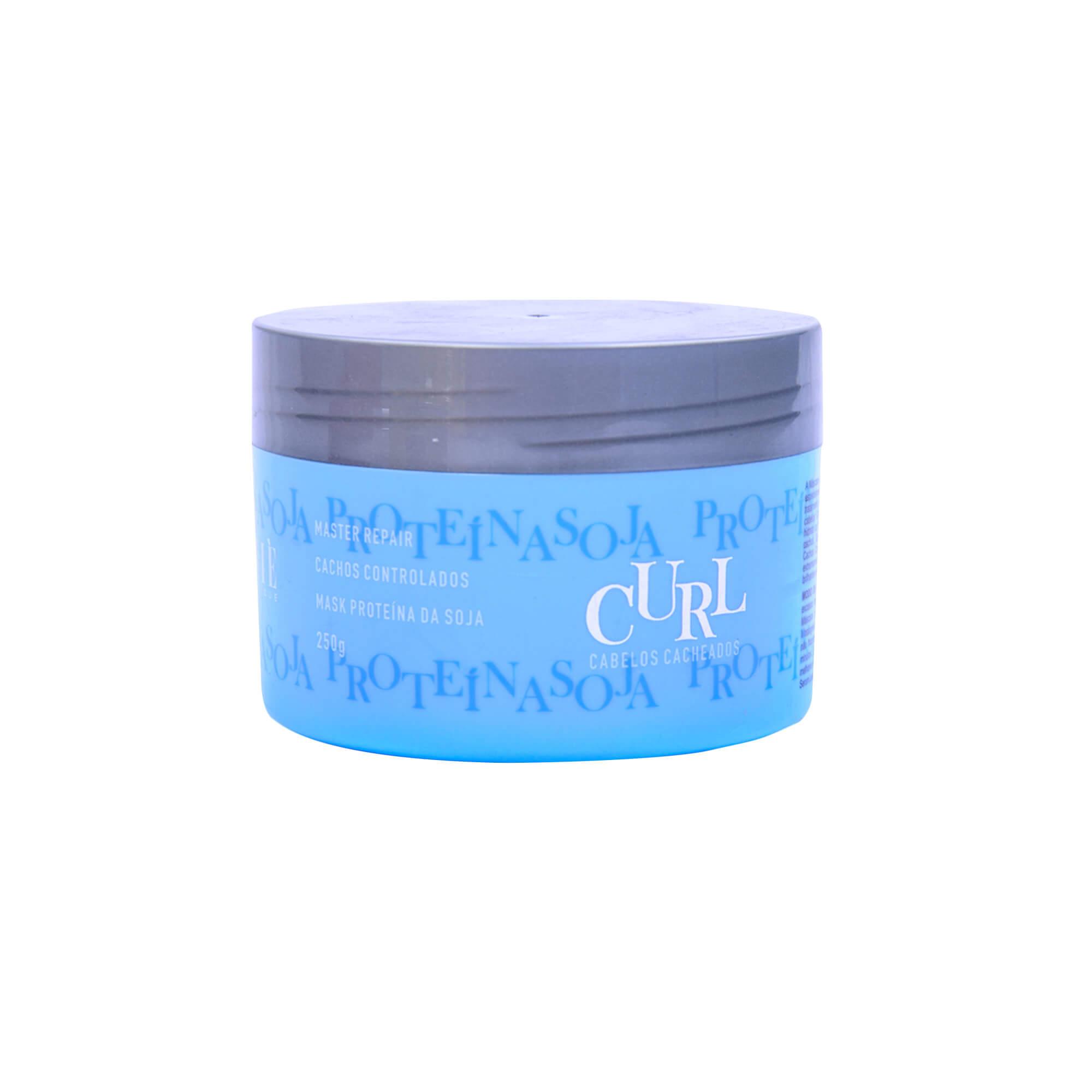 Máscara Proteina da Soja para Cabelos Cacheados 250 gr
