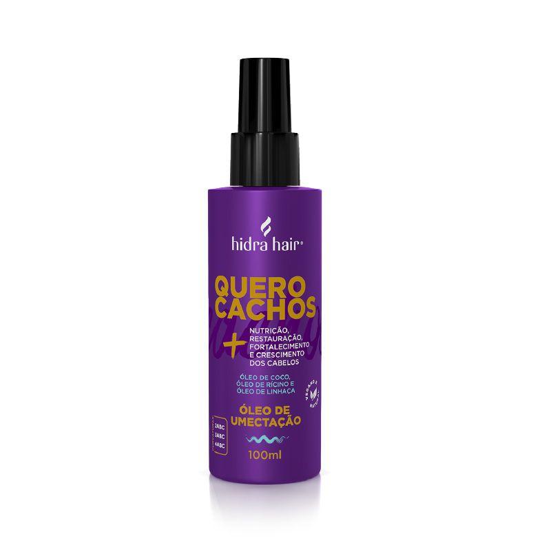 Óleo de Umectação Quero Cachos Hidra Hair 100 ml
