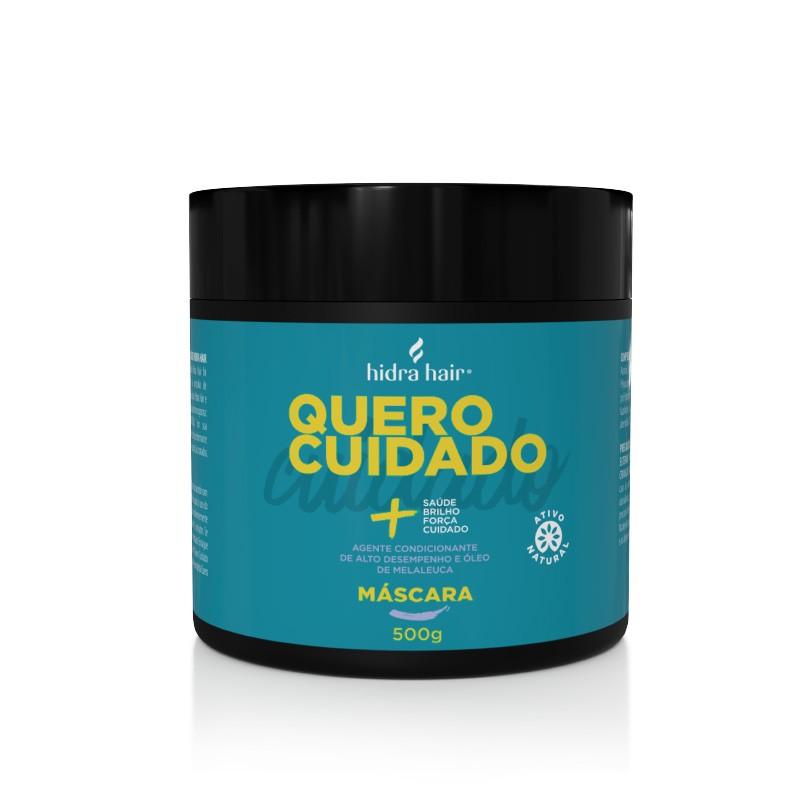Kit Cronograma Capilar: Shampoo Quero Cuidado + Condicionador + Máscara  de Tratamento + Caixa com Ampolas Cronograma Capilar