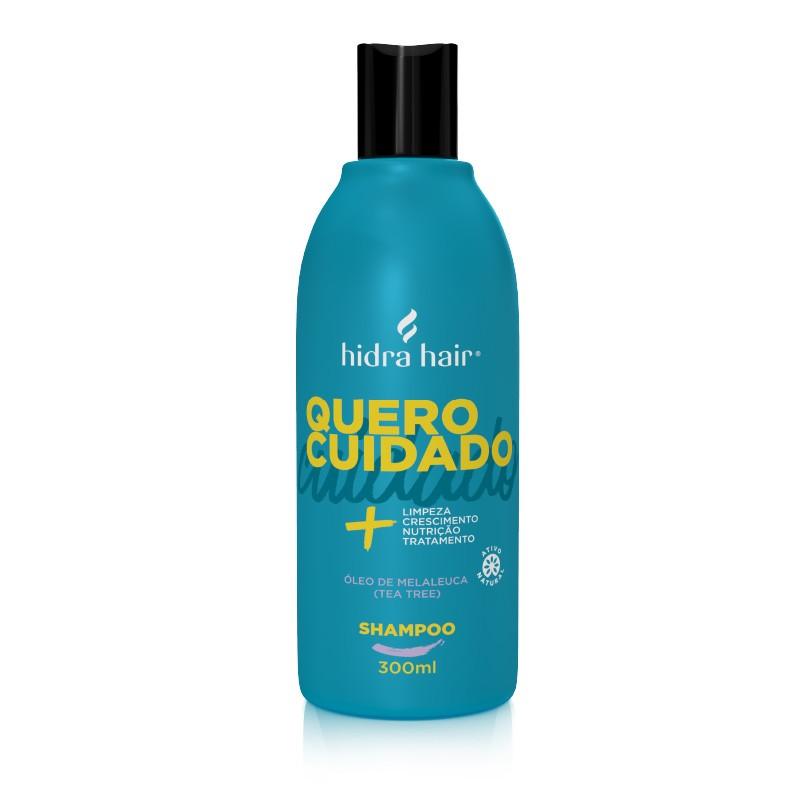 Shampoo  Quero Cuidado Hidra Hair 300 ml