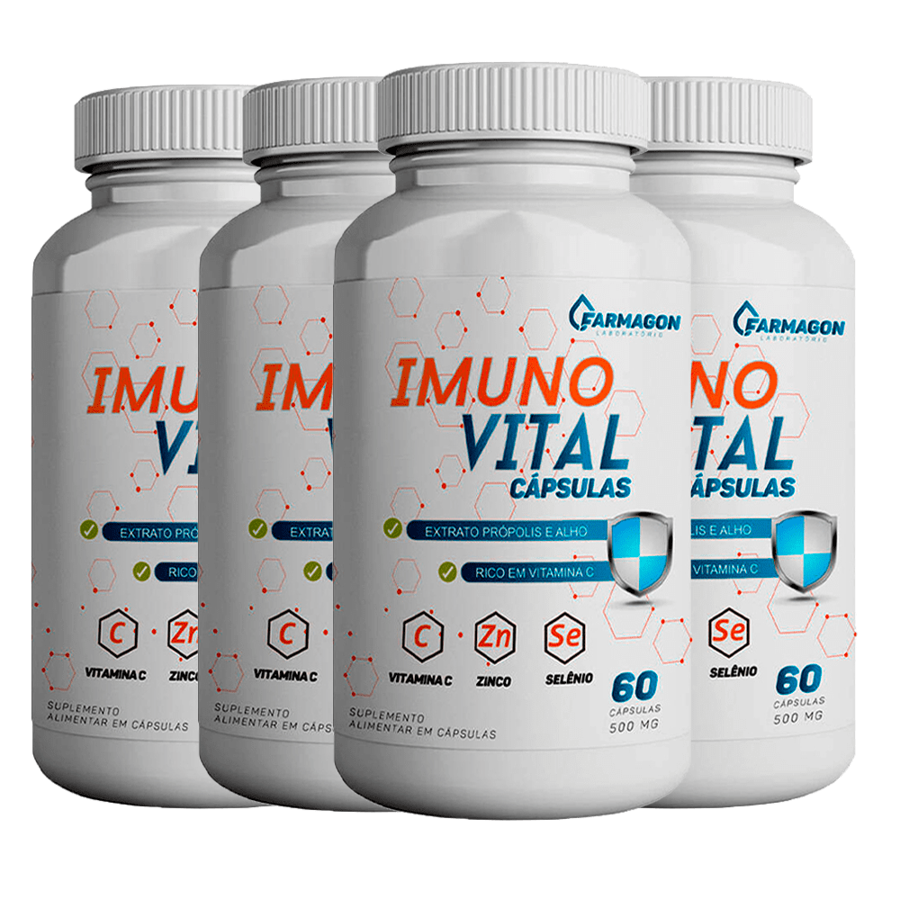 Combo Imuno Vital 4 Unidades