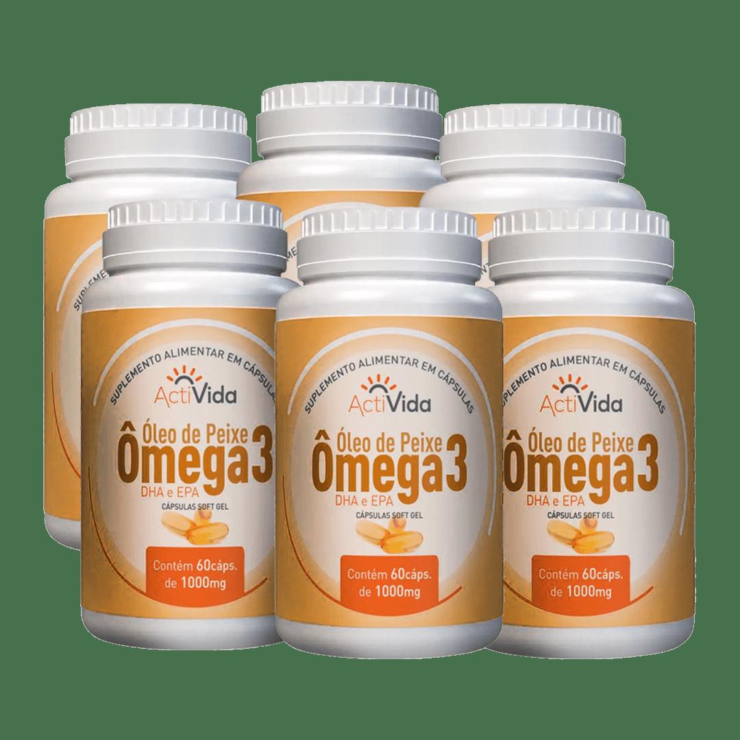 Combo Omega3 6 Unidades