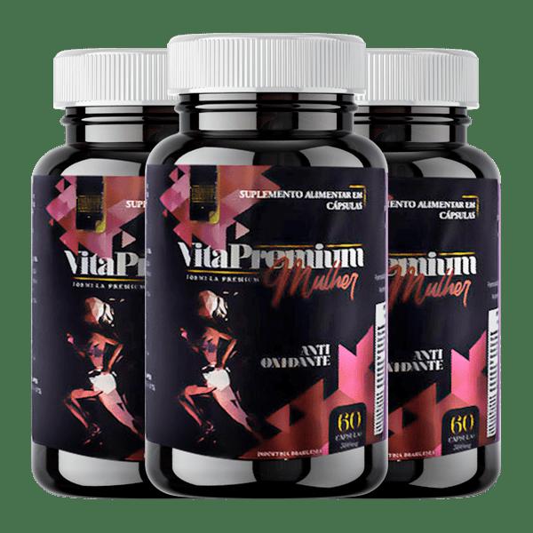 VitaPremium Mulher 3 Unidades