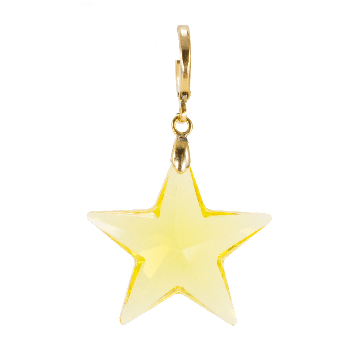 Brinco estrela Swaroviski