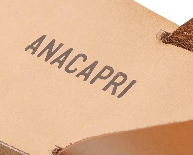 Chinelo Anacapri Dedo de Couro