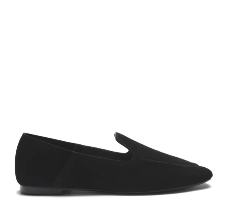 Sapato Schutz Loafer Suede Preto