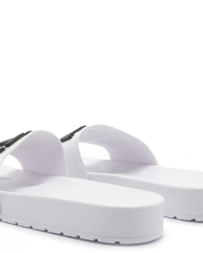 Slide Schutz Logomania Branco