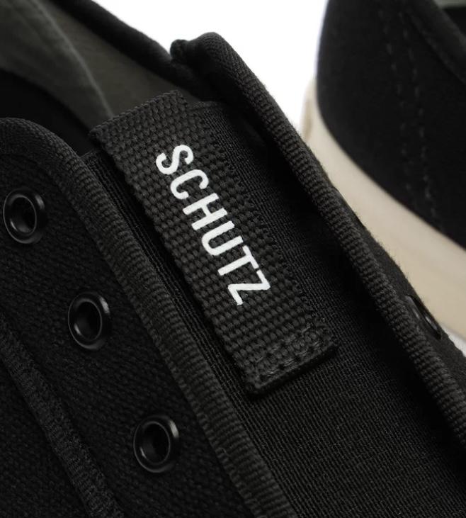 Tênis Schutz Smash (nas cores Preto e bege)