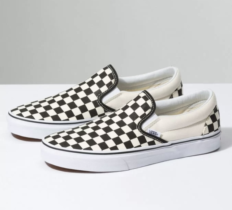 Tênis Vans Iate Checker Board Black/White Xadrez