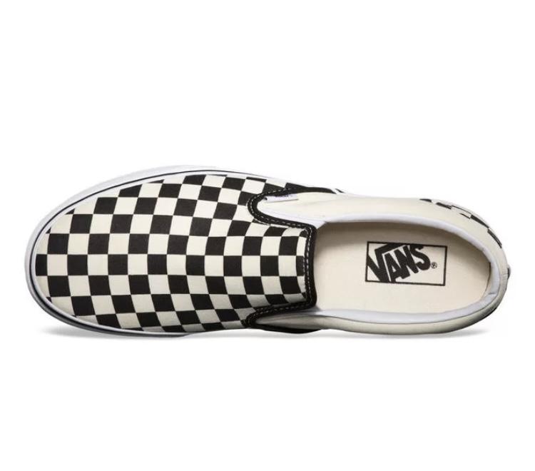Tênis Vans Iate Checker Board Black/White Xadrez