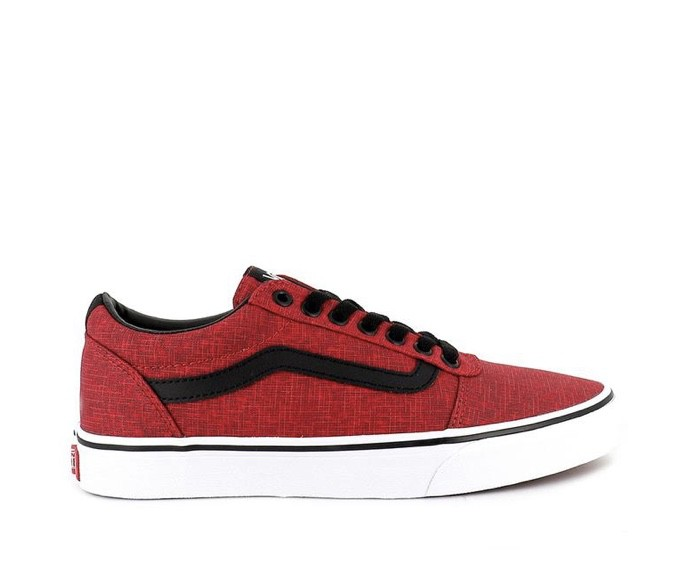 Tênis Vans Masculino Ward Crosshatch Red/White