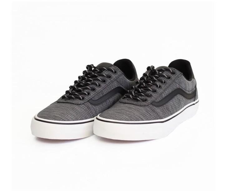 Tênis Vans Masculino Ward Deluxe Sport Textile Cinza Black/White