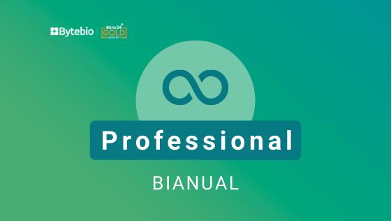Professional Bianual - Licença Bitrix24  - Bytebio