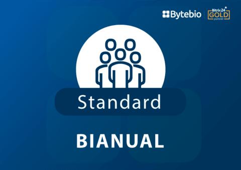 Standard Bianual - Licença Bitrix24  - Bytebio