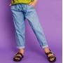 PRÉ- VENDA - Calça Clochard Tricoline Jeans