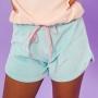 Shorts Plush Azul