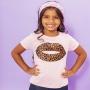 T-shirt Infantil Boca Onça Rosa