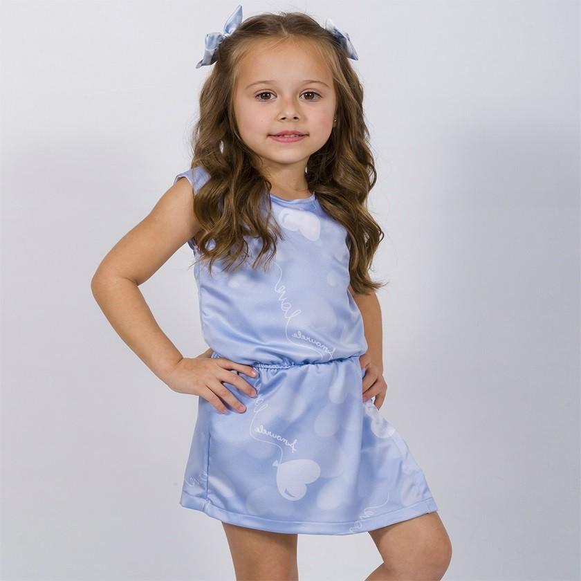 Macaquinho Infantil Balão Azul