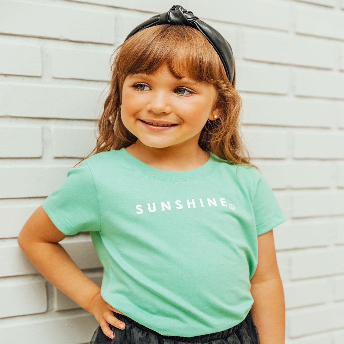T-shirt Estampada Sunshine Mint