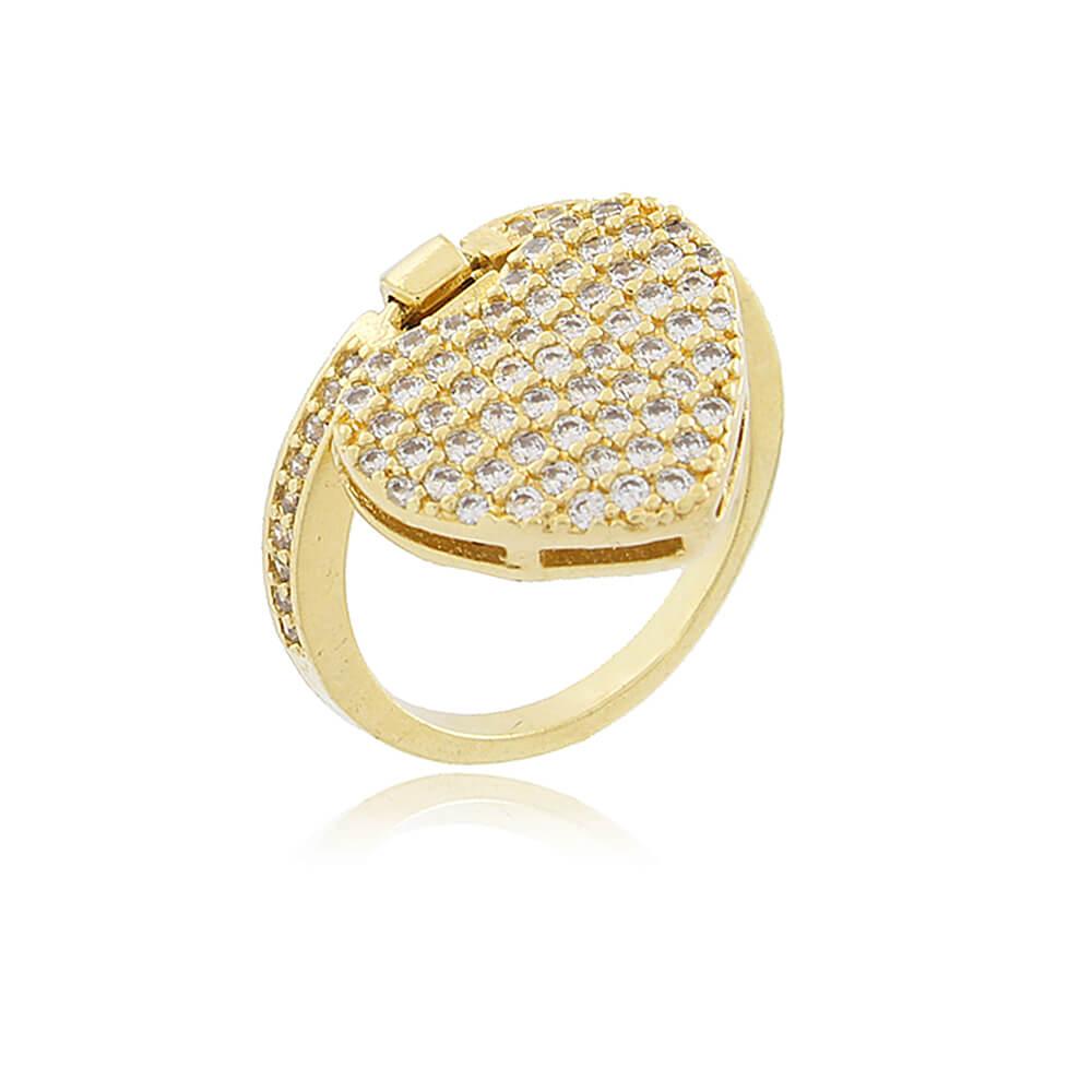Anel Aurea Dourado