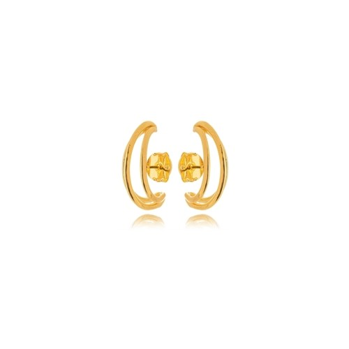 Brinco Ear Hook Fileiras Lisa Camila