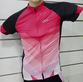Camisa Siker Ciclista Feminino MC Doha