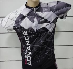 Camisa Siker Ciclista Masculino ML Leeds