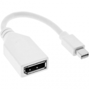 Adaptador Mini Displayport Macho para Displayport Femea