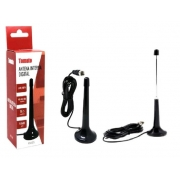 Antena para TV Digital Base Magnetica 3m