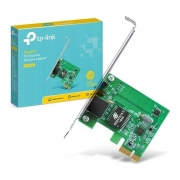 Placa Rede PCI-e X1 - Gigabit 10/100/1000 Standard/Low Profile, TPLINK TG-3468